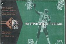 1995 SP Factory Sealed Football Hobby Box  Curtis Martin  RC ?