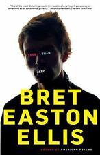 Less Than Zero: By Ellis, Bret Easton