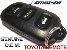 02 03 04 05 06 TOYOTA CAMRY KEYLESS ENTRY REMOTE OEM FOB GQ43VT14T SE LE XLE V6