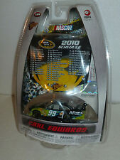 #99 CARL EDWARDS AFLAC HOOD SCHEDULE 2010 ROUSH FORD FUSION WINNERS CIRCLE 1/64