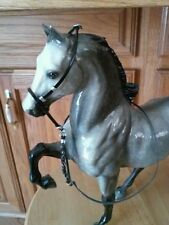 One Breyer horse custom braided  bridle
