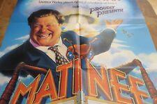 Matinee, original movie poster, folded, John Goodman, colorful