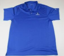 Nike Dry Fit Tavistock Cup Men's Royal Blue Polo Golf Shirt XL XLarge