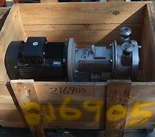 "GRUNDFOS HILGE  SIPLA 12.1 ADAPTA SS Turbine pump DN40 1.5""  inch 2.2 kW motor"