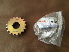 "AMEC 17 Tooth Chain 3/4"" Bore Jackshaft Sprocket Minibike Go Kart Trike NOS"