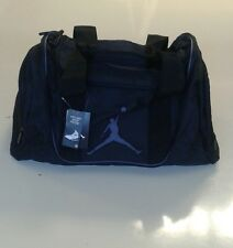 Nike Air Jordan Jumpman Black Duffel Gym Bag Black 9A1498-023 New With Tags