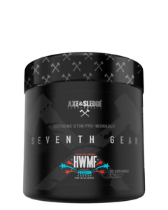 Axe And Sledge Seventh Gear High Stim Pre Workout - 60 Serves