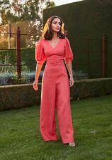 BNWT Ministry of Style Celia Jumpsuit Tangerine - Sz 6 RRP $239.95