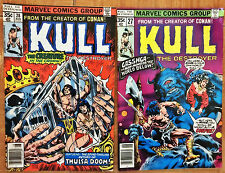 KULL THE CONQUEROR n. 27-28 -  Marvel comics