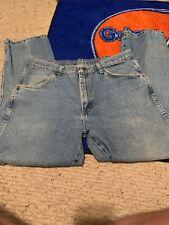 """Men's Rustler Denim Blue Jeans, W 34"""" I 30"""""""