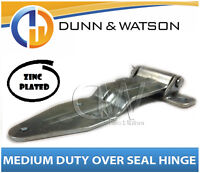 Medium Over Seal Zinc Plated Hinge - Camper Trailers, Caravans, Trucks