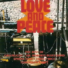 Love and Peace 1970 (Greenlight/il dottor Roberts Blues Band/Tomorrow 's veleno etc:) CD