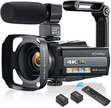 4K 60FPS Video Camera Camcorder Ultra HD 48MP Digital Camera WiFi YouTube Vloggi