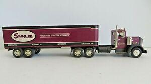 Ertl Peterbilt Model 344 Semi Truck Bank SNAP ON TOOLS  #12800