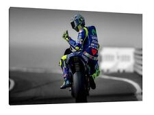 2017 Valentino Rossi 30x20 Canvas - Moto GP Framed Picture Yamaha M1