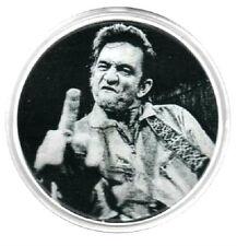 JOHNNY CASH  DRINKS COASTER.  Rock'n'Roll,  Rockabilly, Country.