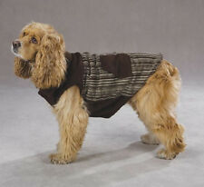 Zack and Zoey Berber Collar Corduroy Ranch Dog Coat Classic  Size: XSMALL