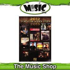 New Top Country Hits of 2012 - 2013 PVG Music Book - Piano Vocal Guitar