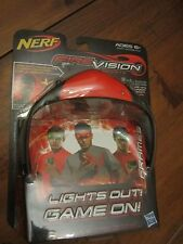 Nerf FIREVISION SPORTS FRAMES RED Activate Ultra-Bright Glowing Balls Glasses