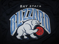BAY STATE NEW ENGLAND BLIZZARD American Basketball League (SM) Long Sleeve Shirt