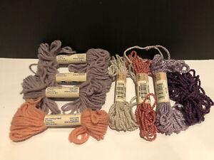 Vintage Yarn 13 Card Lot Bucilla Nylon Heel /'N Toe Yarn Bucilla Handi-Nylon Yarn And Lace Net Darning Yarn On Original Cards