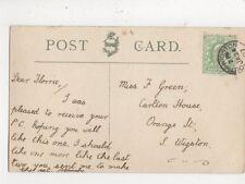 Miss Florrie Green Orange Street South Wigston 1907  782a