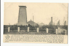 Belgium - Waterloo - Gordon & Hanoverians monuments - 1900's Postcard