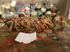 16 Deathguard Poxwalkers Warhammer 40k Chaos Nurgle Painted lot 2