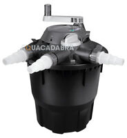 HOZELOCK BIOFORCE REVOLUTION GARDEN FISH POND PRESSURISED FILTER UV UVC