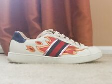Gucci Flames Sneakers Size 8.5