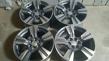 "2015-16 5673 CHEVY GMC COLORADO CANYON 18""  OEM FACTORY WHEELS RIMS set of 4 new"
