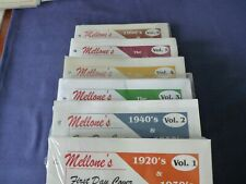 Mellone Fdc Photo Encyclopedia Of 1St Cachets 1920S Thru 2000S Decade