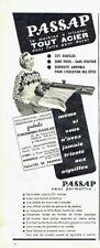 Publicité Advertising 097  1957  la machine à tricoter Passap