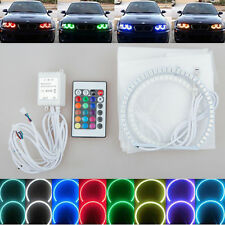 for BMW E90 2006-2008 E60 4x Xenon RGB remote Multi-Color LED Angel Eyes Kit