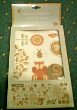 GRAHAM & BROWN WALL STICKERS WILDLIFE THEME FOX,OWL,TREES ETC NEW IN PACKET