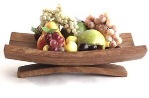 Oak fruit bowl - Wooden fruit bowl - Rustic Fruit bowl