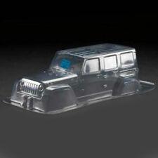 PVC Cuerpo Carcasa para 313mm Wheel Base 1/10 Jeep Wrangler Rc Axial Crawler