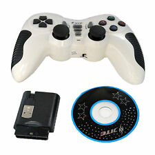 Wireless USB 2.4G Gaming Controller GamePad Joystick Dual Shock For PC Laptop
