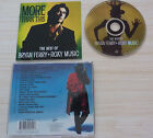 CD ALBUM MORE THAN THIS BEST OF FERRY BRYAN ROXY MUSIC 20 TITRES 1995