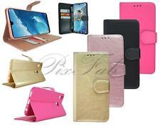 Per Huawei Honor 8X JSN-AL00 NUOVO Telefono in Pelle Portafoglio Copertura Caso + schermo di vetro