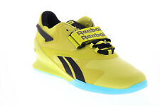 Reebok Legacy Lifter II FU9461 Mens Yellow Athletic Weightlifting Shoes