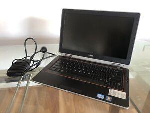 """Dell Latitude E6320 13.3"""" Laptop Intel i5-2540M @2.6Ghz 4Gb RAM 500Gb SSD Win 10"""