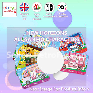 All Sanrio Animal Crossing Custom NFC Amiibo Compatible Sticker Tag New Horizons