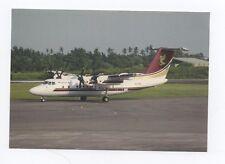 Pelita Air De Havilland DHC-7-103 Dash PK-PSX c/n 94 at Medan 11/92 (pochette 3)