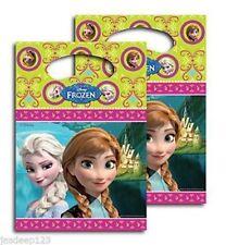 BNIP 12 X Disney Frozen Party Bags ( 2 PACKS ) Sweet Treats Goody BAGS Anna Elsa