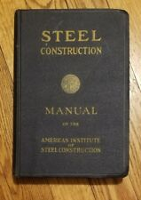 1960 American Institute Steel Construction Manual