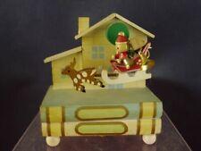 Spieluhr Spieldose Holz Gilde Schlitten Jingle Bells  [06-158