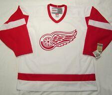 DETROIT RED WINGS  size Medium - CCM Vintage Series Hockey Jersey White bnwt cdn