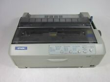 Epson LQ-590 P363A USB and Parallel Dot Matrix Printer Tested