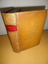 HORACE QUINTUS HORATIUS FLACCUS COLLEGE LEATHER BINDING CARIMINA  macleane 1853